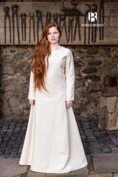 Robe Thora en blanc-écru