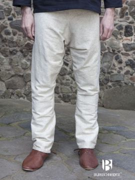 Pantalon viking Thorsberg en blanc-écru