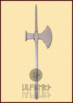 Hache de combat avec marteau