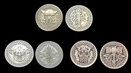 Pièces de monnaie GN Normands