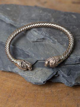 Bracelet têtes de dragon