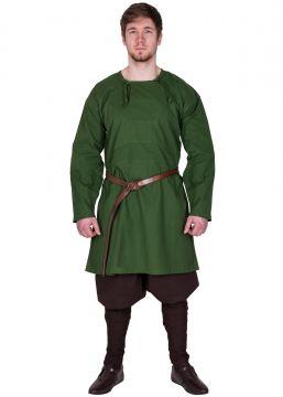 Reproduction Tunique Viking Viborg, en vert