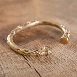 Bracelet celtique en bronze
