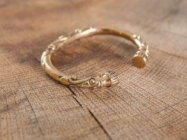 Bracelet celtique en bronze