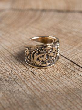 Anneau celtique en bronze