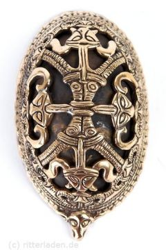 Broche ovale Viking