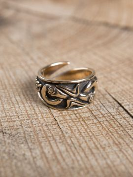 Bague Viking en bronze