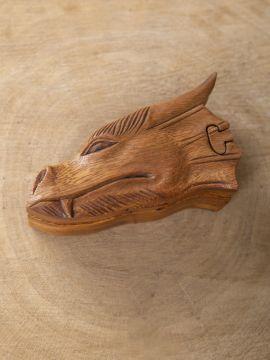 Boîte en bois Dragon