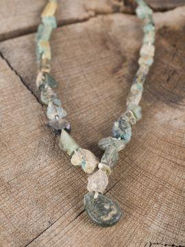 Collier Viking en perles de verre