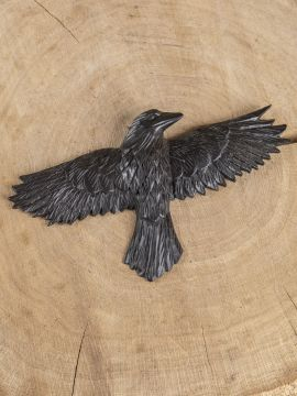 Décoration murale corbeau Hugin