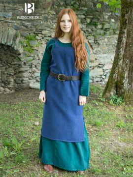 Robe Viking Frida en bleu marine