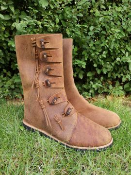 Bottes Viking Odin marron
