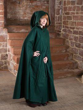 Manteau en laine Allan, vert sapin