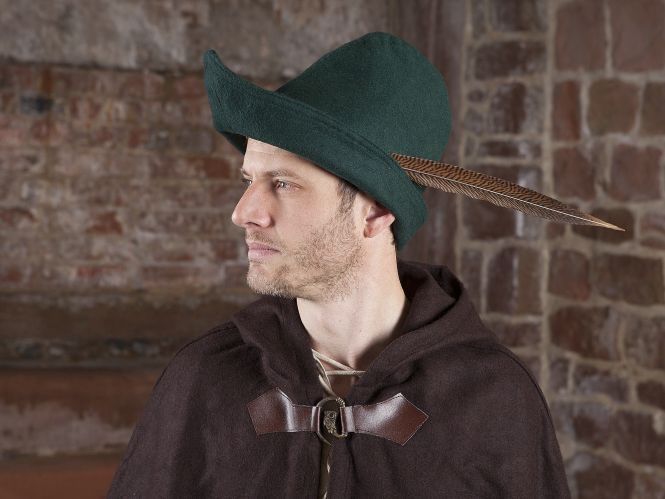 [Culture]Les Couvres-Chefs 22086g-robin-hood-hut-wolle-gruen