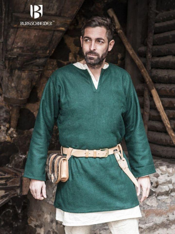 Tunique en laine Lodin en vert
