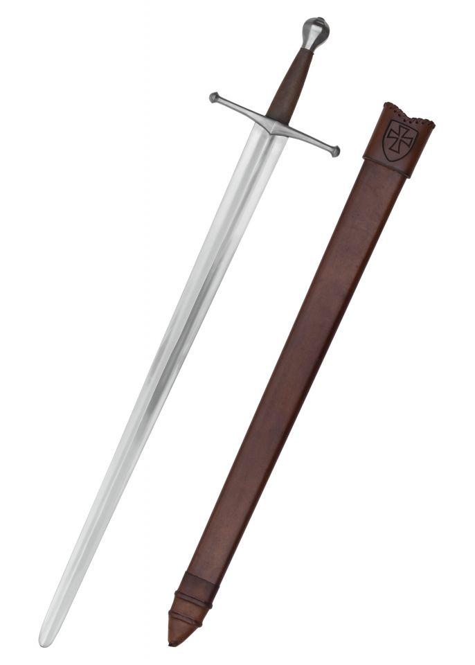 Épée médiévale allemande avec fourreau