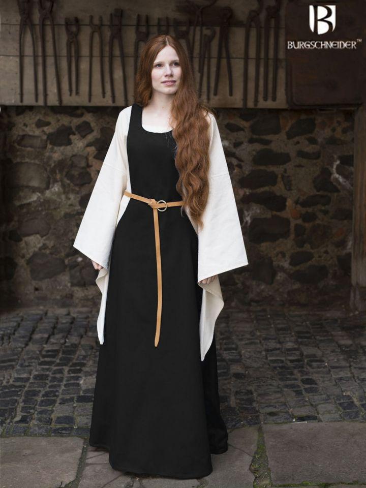Surcot Isabella noir
