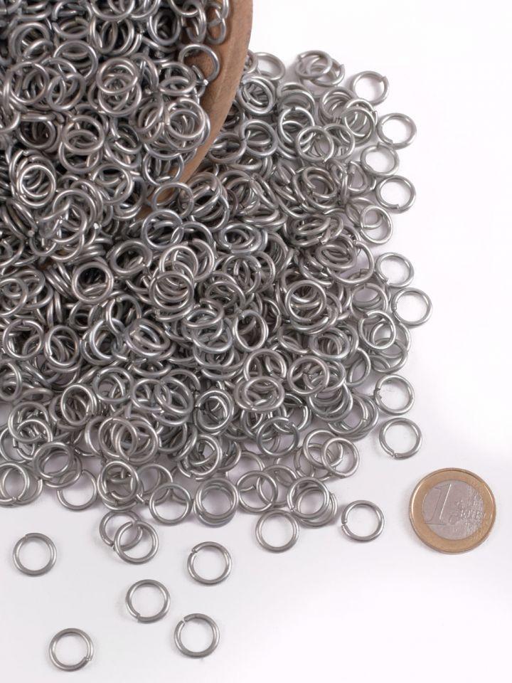 Anneaux ronds de 9 mm