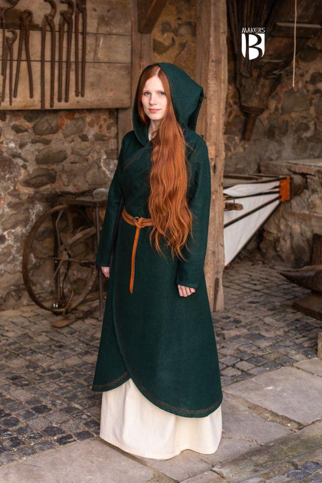 Manteau Enya en vert