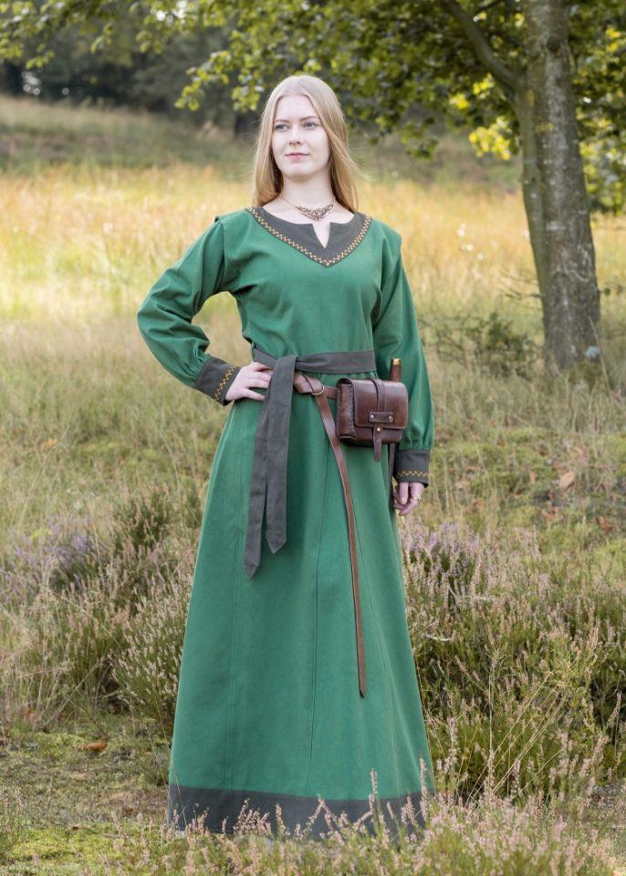 Robe viking Freydis en vert
