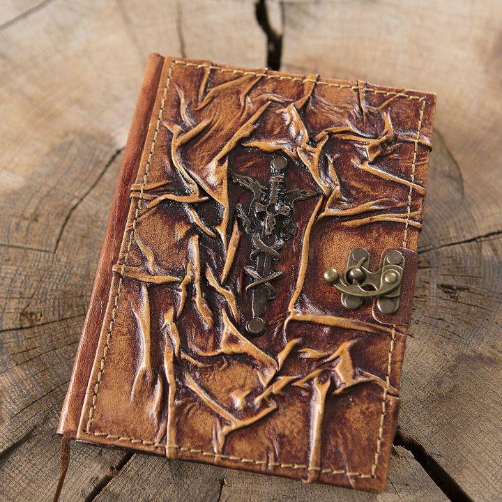 Carnet en cuir Excalibur