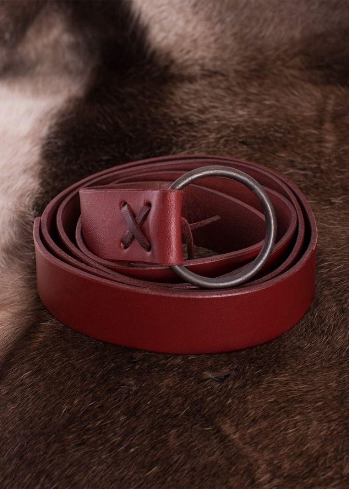 Ceinture anneau rouge, environ 190 cm