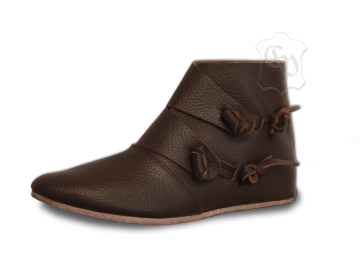 "Bottines ""Knut"" marron 44"