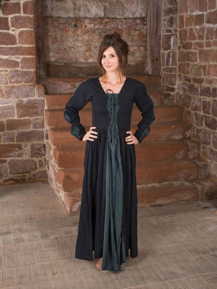 Robe médiévale bi-matière S
