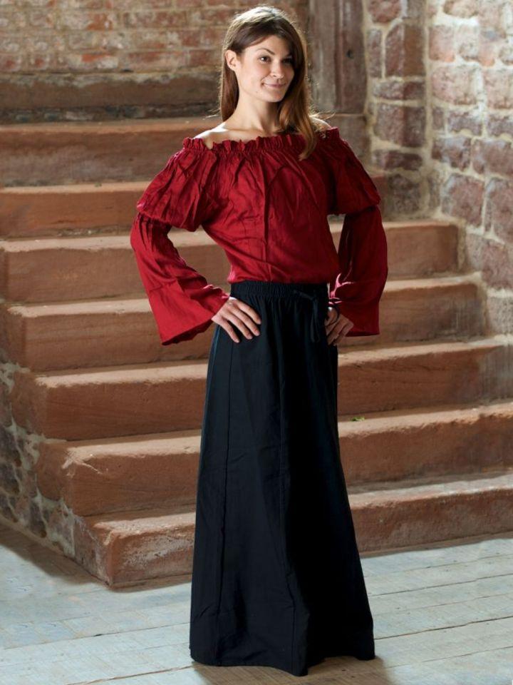 Ensemble médiéval jupe et blouse