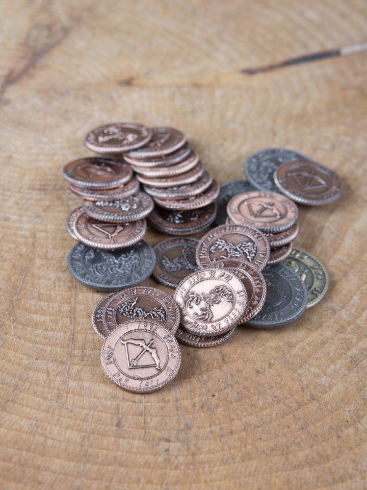 Pièces de monnaie GN Elfes