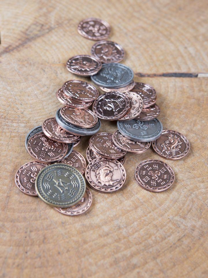 Pièces de monnaie GN Onde