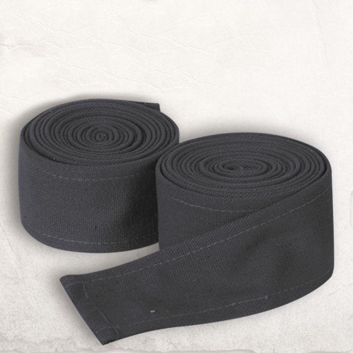 Bandes à enrouler en tissu épais, grises