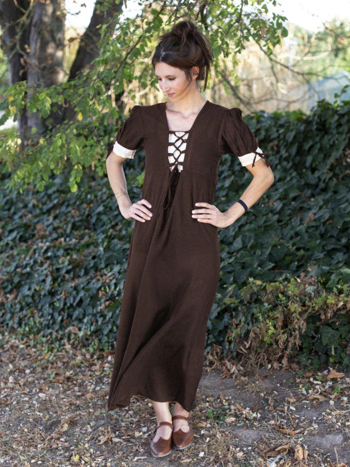Robe d'été marron