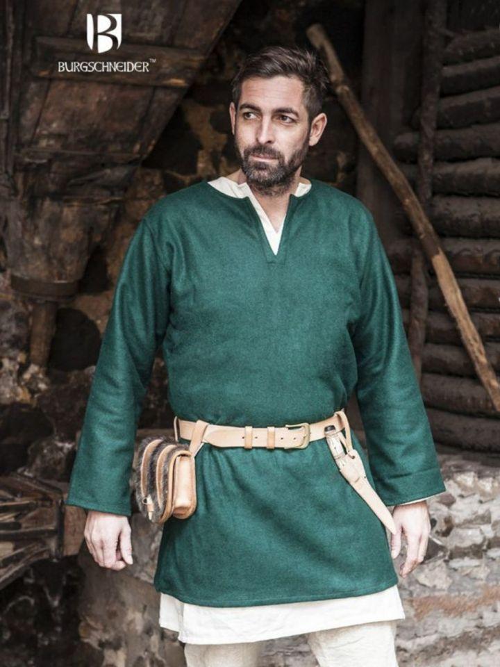 Tunique en laine Lodin en vert L