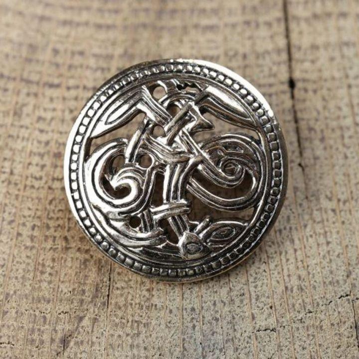 Broche viking bronze