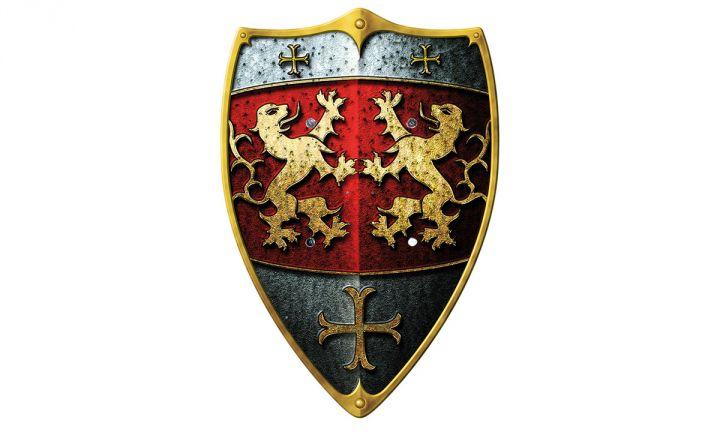Bouclier de petit chevalier Léo