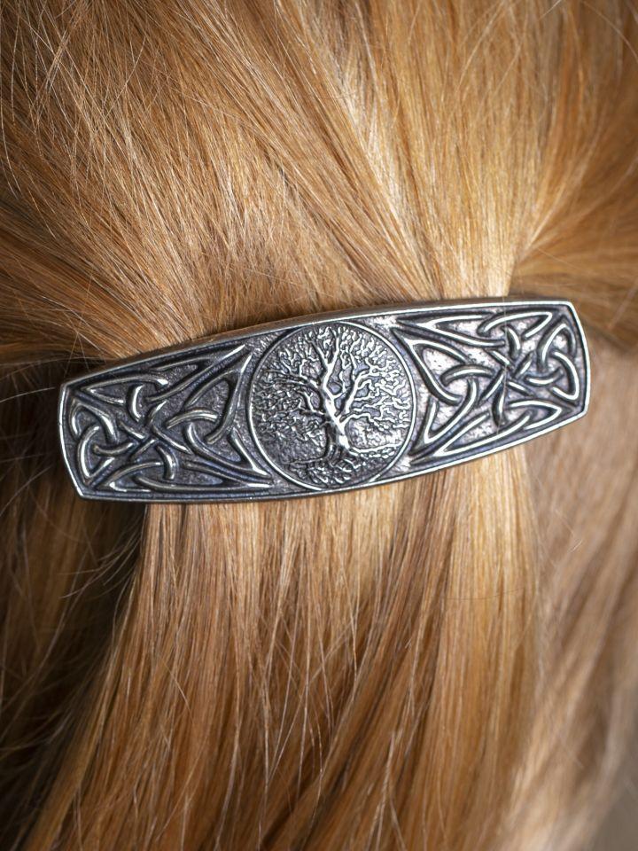 """Barrette à cheveux motif """"Arbre de Vie"""""""