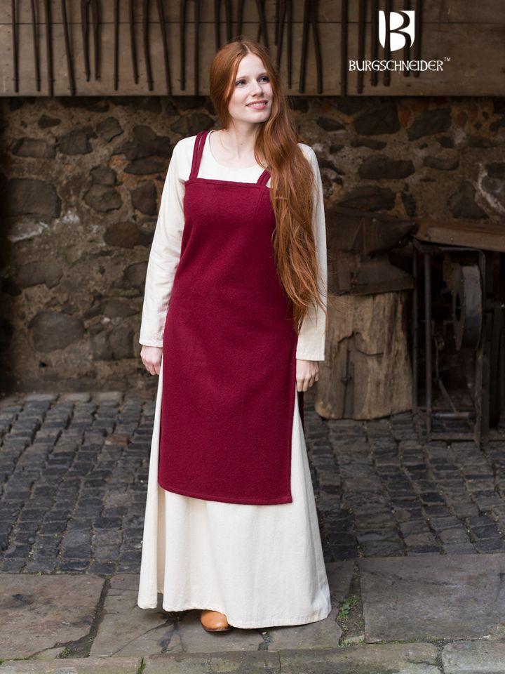 Robe viking Jodis en rouge