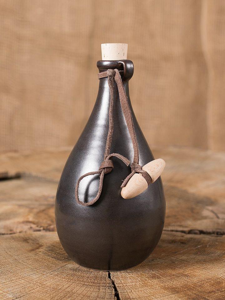 Fiole à potion, brun foncé