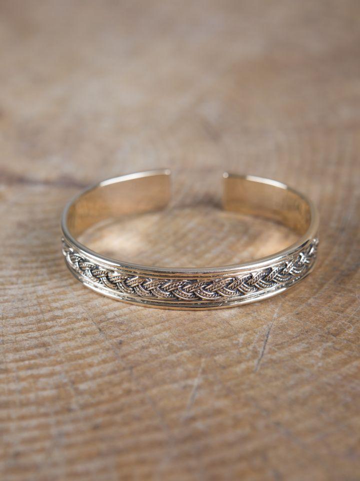 Bracelet Viking à entrelacs en bronze