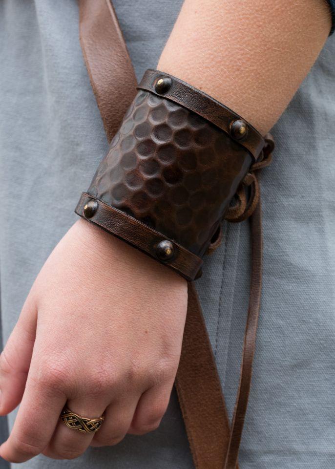 Protège-bras simple en cuir, petit modèle