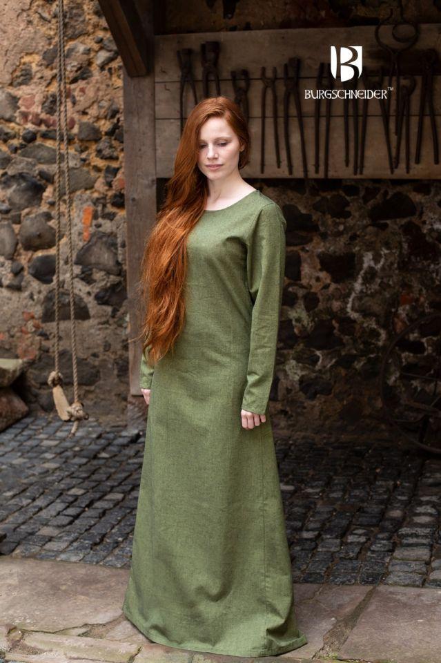 Surcot Freya en vert de gris