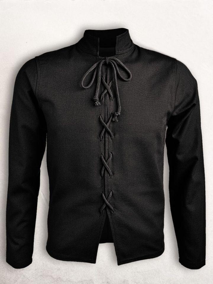 Pourpoint en coton noir M