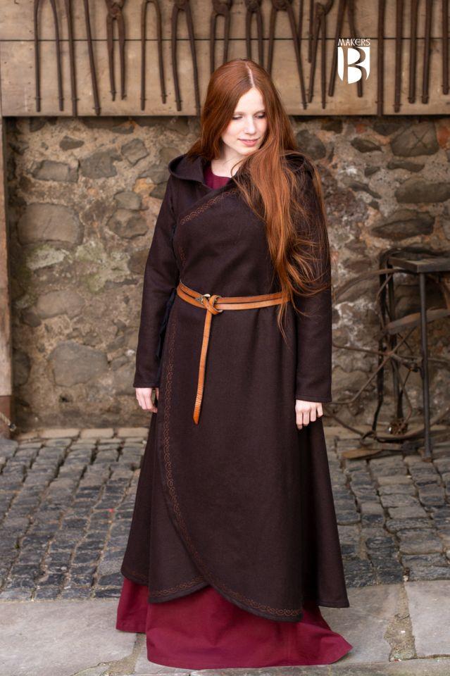 Manteau Enya en marron