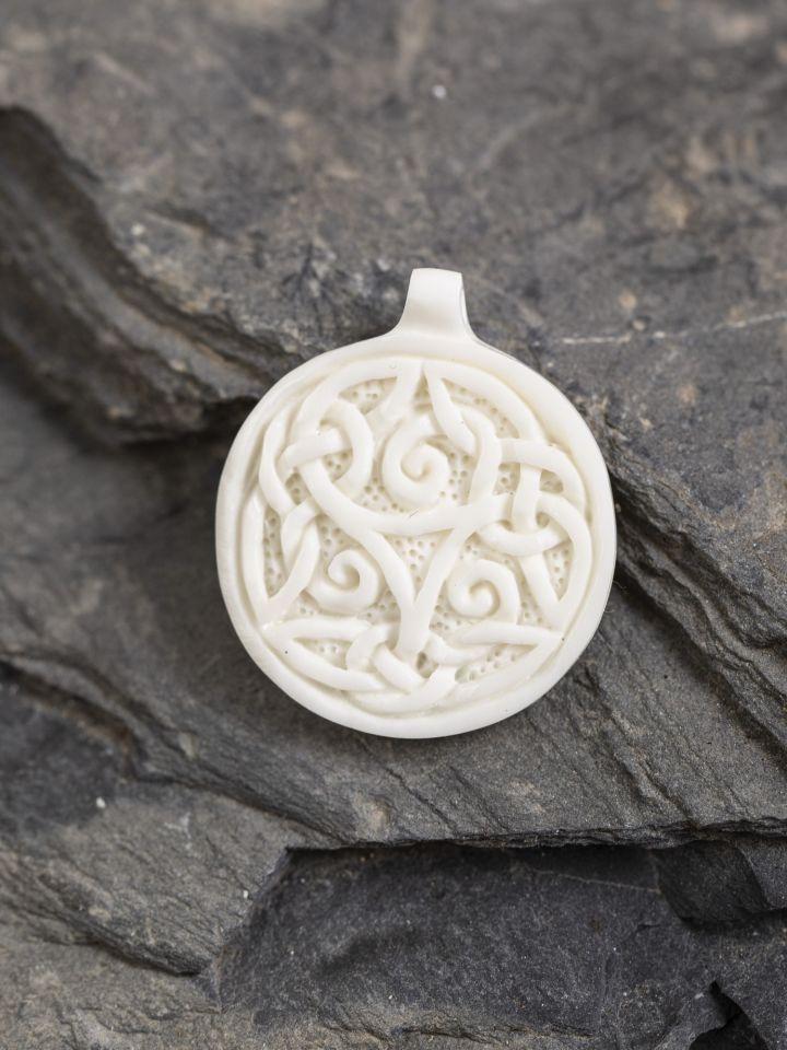 Pendentif Celtique Triskèle en os