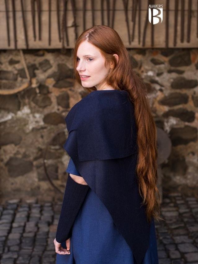 Tissu Bertrude bleu