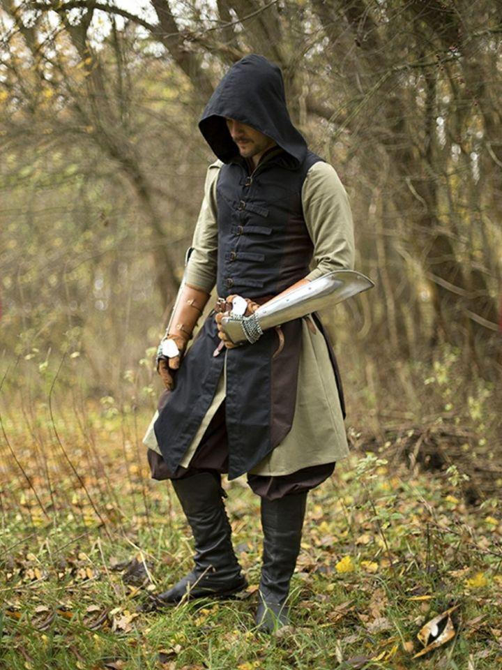 Manteau Altair marron-noir L/XL