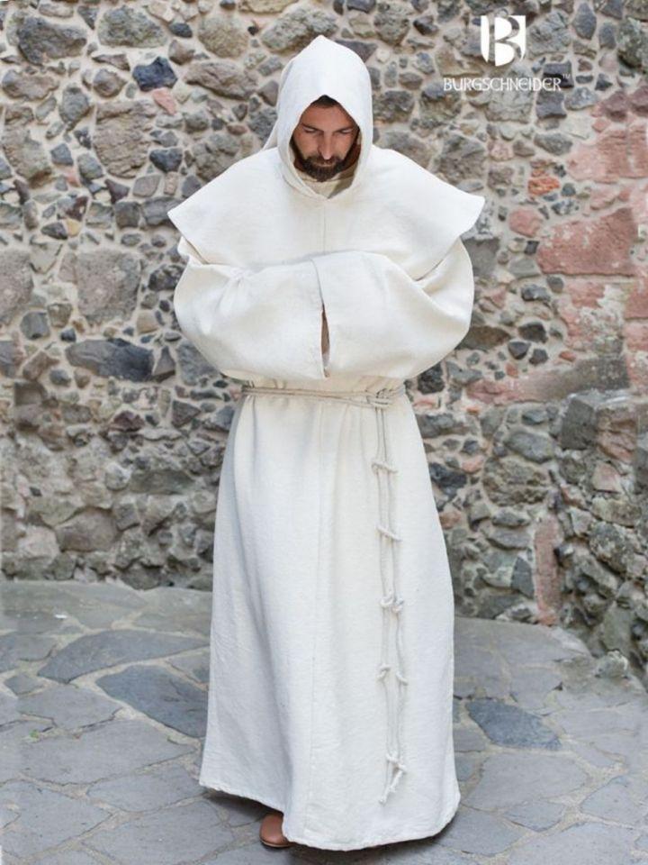 Habit de moine bénédictin en écru L/XL