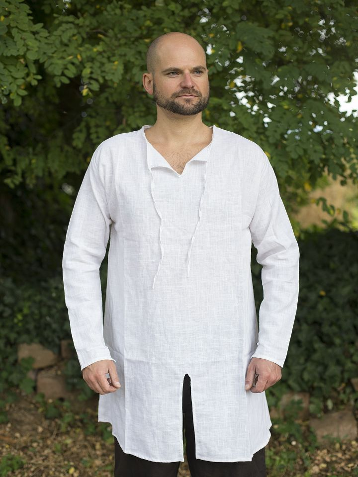Tunique en lin et coton