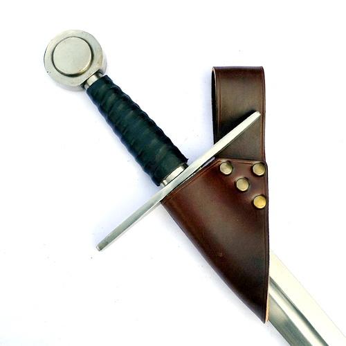 Sangle de maintien pour l'épée marron